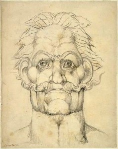 A depiction of Caractacus by William Blake.