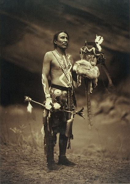 Image: Edward S. Curtis, Wellcome Libary, London.