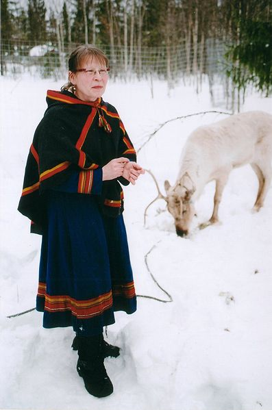 The Sami are the indigenous people of the Arctic and northern Scandinavia. Image: Anthony Randell.