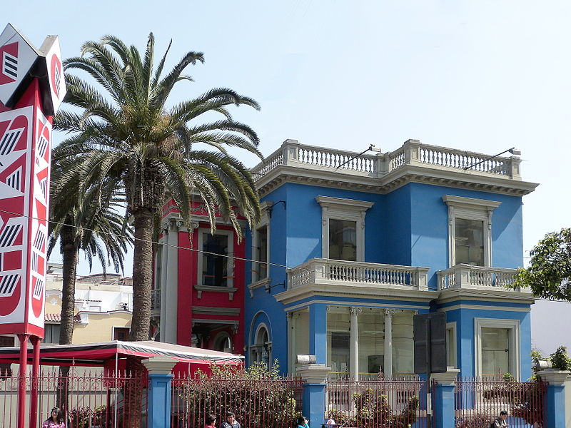 A Peruvian home in Lima retains traces of the city's Spanish colonial history. Image: WillsYunire.
