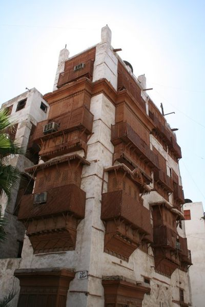 Traditional house from Al Balad, Saudi Arabia. Image: BroadArrow.