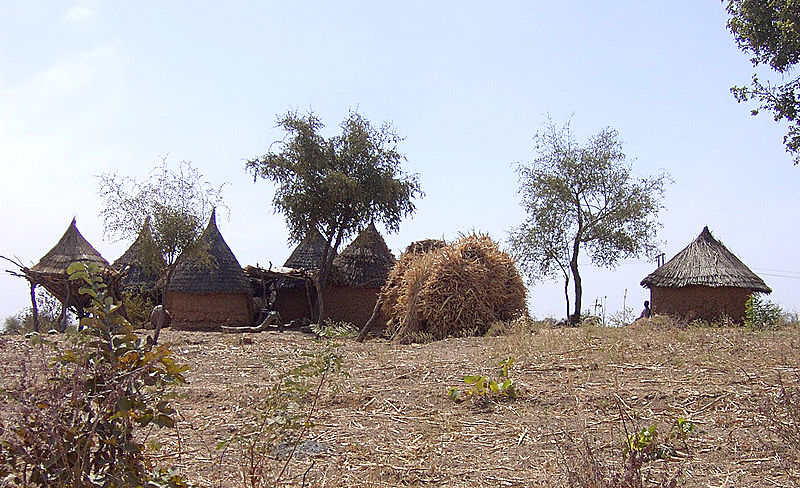 Matakam huts from the north of Camaroon. Image: Amcaja.