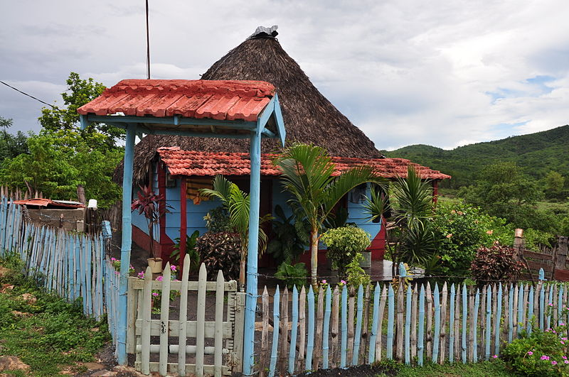 A home in the Cuban countryside. Image: Dominique Michel.