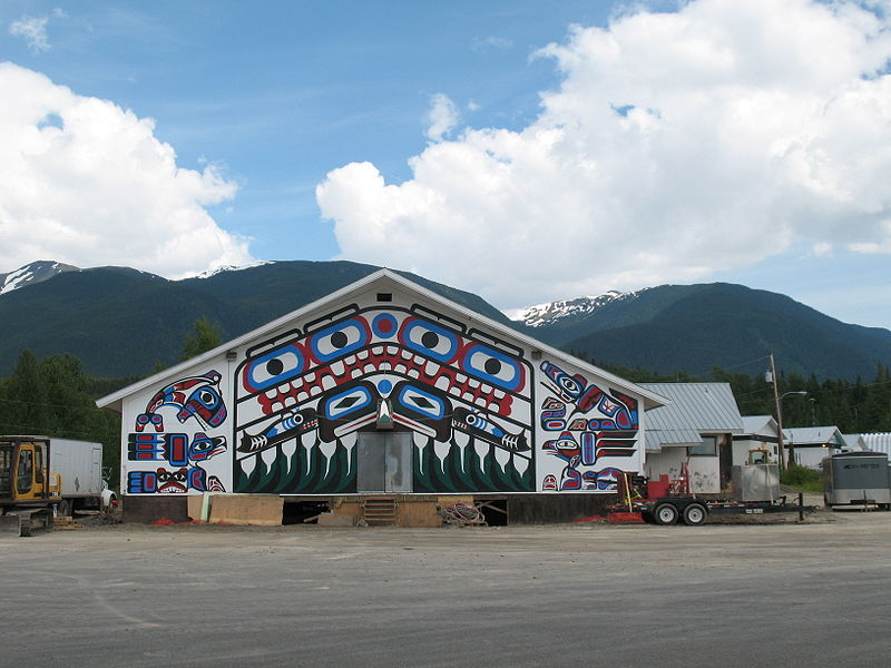 A home of the Nisga'a of British Columbia. Image: Hans-Jürgen Hübner.