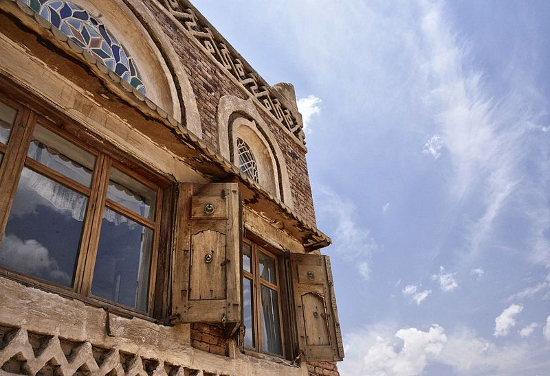 An old house in Sana'a, Yemen. Image: Rod Waddington.