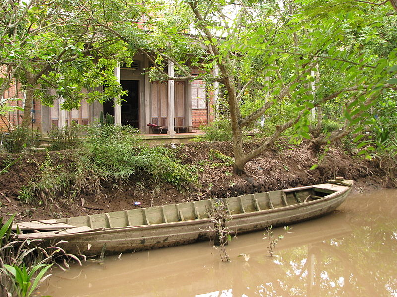 Vietnamese home on An Binh Island. Image: McKay Savage.