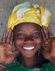 A young woman from Gambia. Image: Ferdinand Reus.