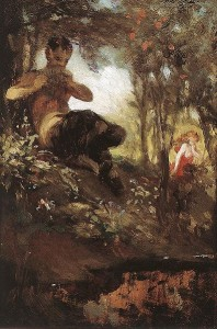 Faun was called Pan in Greek mythology.