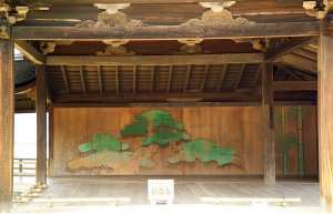 A stage for classical Japanese Noh theater. Image: Fg2.