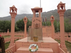 The Kargil War Memorial in Dras, India. Image: Mail2arunjith.