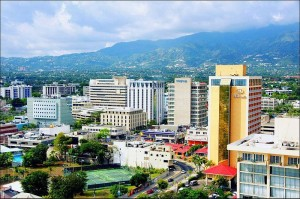 Kingston, the largest city and capital of Jamaica. Image: Antwain.