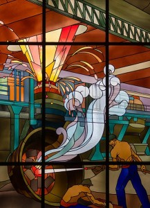 Stained glass art by Louis Majorelle. Image: Caroline Léna Becker.